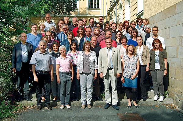 Das Lehrerkollegium im Schuljahr 2014-15.
