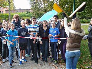Der Spendenlauf am Röhrensee war eines der gemeinsamen Projekte.
