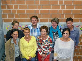 Stefanie Finzel (hinten links) informierte über die Partnerschaft