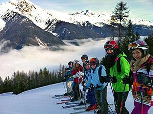 Die Wintersportwoche in der Natur stärkt die Gemeinschaft.