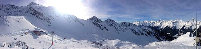 Das Ahrntal in Südtirol ist ein schneesicheres Skigebiet.