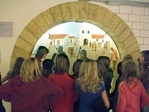 Exkursionen helfen, einen Einblick in die römische Kultur zu gewinnen.