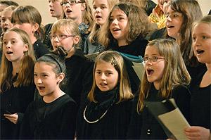 Singen macht Freude.