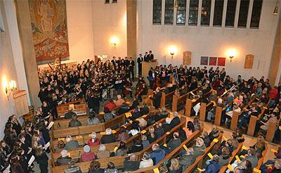 Das Weihnachtskonzert des RWG findet in der Christuskirche statt.