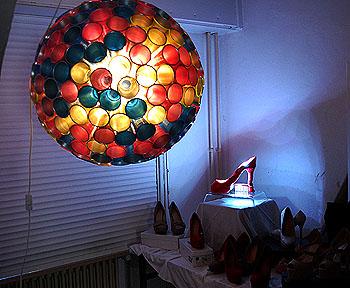 Lichtobjekte können wahre Kunstwerke sein.