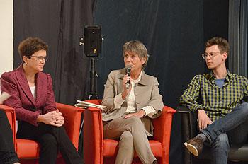Gudrun Brendel-Fischer, Brigitte Merk-Erbe und Maximilian Weiß (v. links).