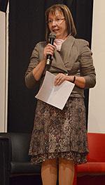Schulleiterin Ursula Graf begrüßte die Gäste.