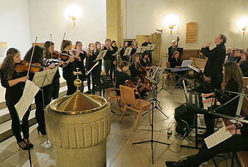 Das Orcheter spielte Händels F-Dur-Konzert.