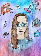 Selbstportrait - Marie Kleineidam (6c)