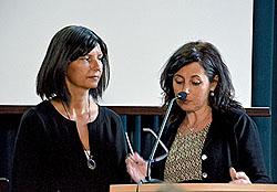 Die italienischen Lehrerinnen bedankten sich für die Gastfreundschaft.