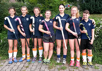 Die RWG Hockeymannschaft 2016