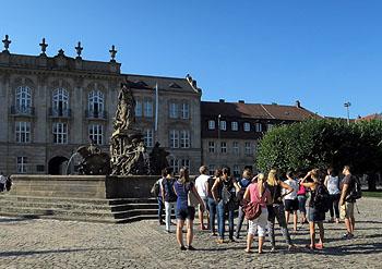 Am Anfang stand ein gemeinsamer Gang durch Bayreuth