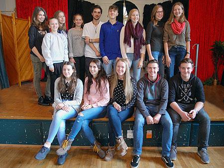 Die Arbeit der SMV verteilt sich auf viele Schüler.