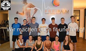 Das Team des Sport-P-Seminars der Q12