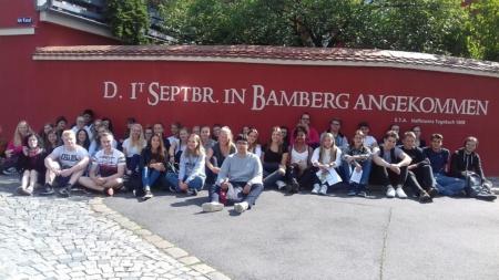 """Romantik""-Exkursion der Q11 nach Bamberg"