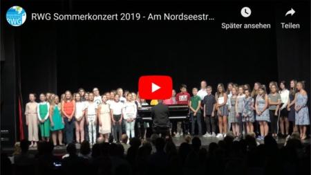 RWG Sommerkonzert 2019 - Am Nordseestrand