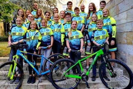 Neue Radbekleidung für die Mountainbiker am RWG