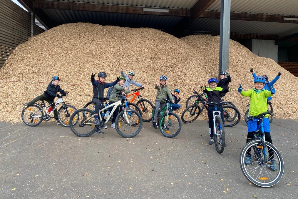Mountainbike-Fun-Nachmittag mit den 5. Klassen